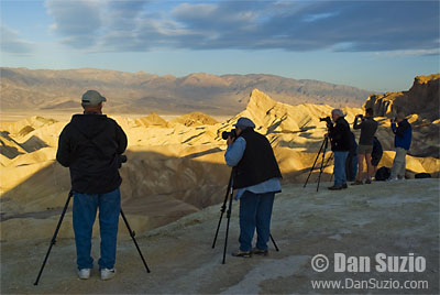 Photographers at Zabriskie Point, Death Valley National Park